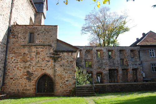 das Augustinerkloster in Alsfeld