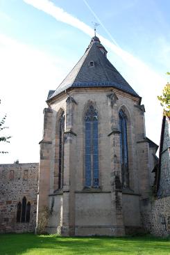 Chor und Teil des östlichen Kreuzgangflügels