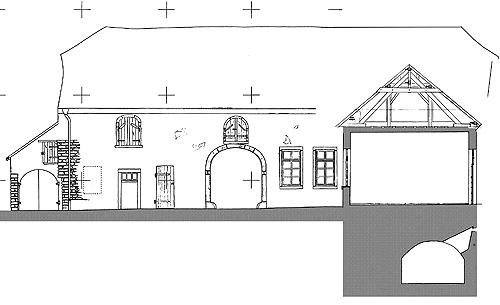 Aufgrund Einer Inschrift über Der Eingangstür Aus Dem Jahr 1672 Kann Die  Fertigstellung Dieses Hauses In Diese Zeit Datiert Werden.