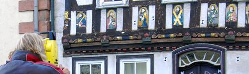 Bauforschung am Elf-Apostel-Haus in Tann in der Röhn