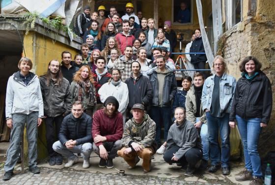 Gruppenfoto der Teilnehmer*innen im Wintersemester 2019/20