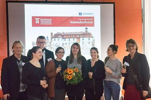 Masterstudentin Linda Voss erhält Auszeichnung